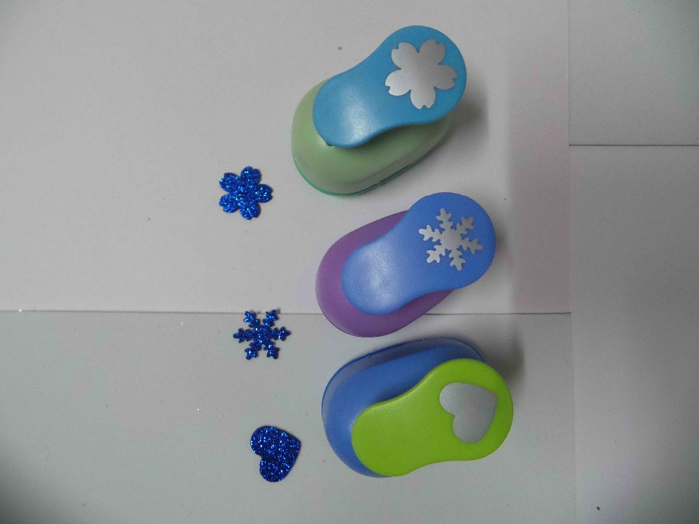 3pcs(2.5cm) sakura,snowflower,heart shape craft punch Punch Craft Scrapbooking school Paper Puncher eva hole punch free shipping подвесные игрушки oops музыкальная медвежонок