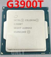 Бесплатная доставка, двухъядерный процессор Intel Core G3900T 2,6G LGA1151, 100% исправно работающий процессор для настольного компьютера