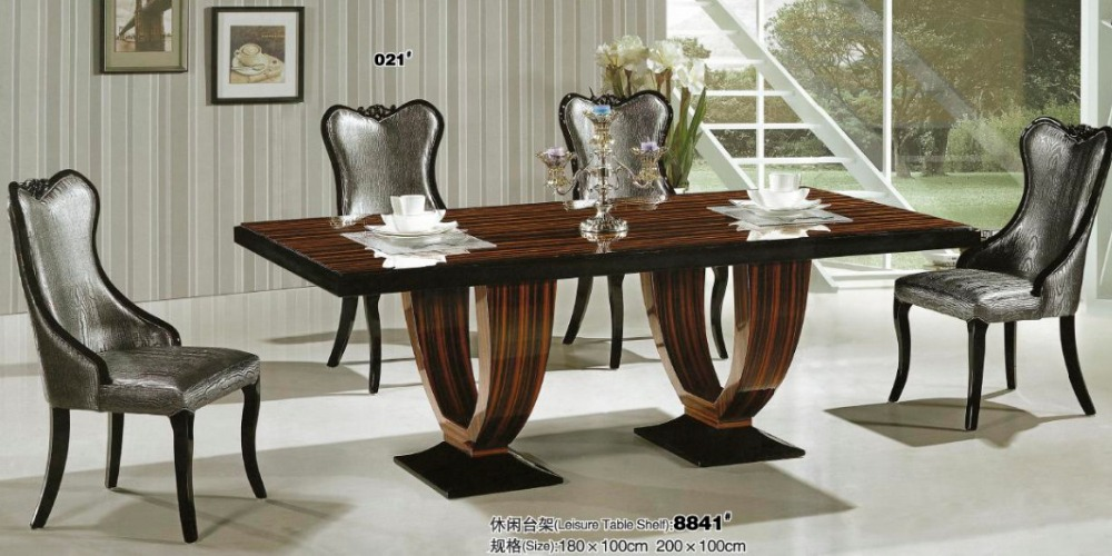 Artificial marble dining table