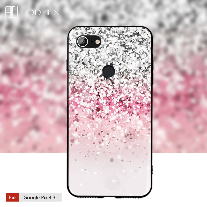 For Google Pixel 2 XL Back Cover Pixel 3 Case Ultra Thin Soft Silicone TPU Cat Painting Google Pixel 2 Protective Bag