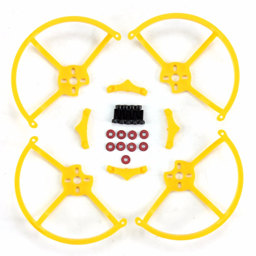 1Set Yellow Propeller Safe Guard Props Protector Cover for 90GT Super Mini FPV Drone