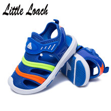 Kids Closed Toe Sandals Boys Girls Teenage or Toddler Summer Beach Shoes 3  Colors Anti- 71bad4f38965