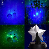 laser twilight Star sky led Night Light Projector Lamp Dimmable Flashing Atmosphere Christmas gift present holiday lightings