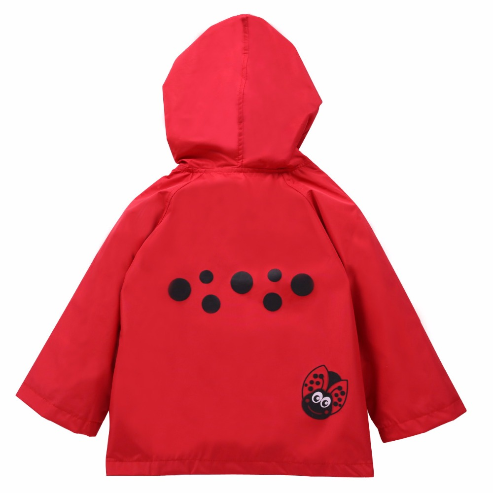 2018 New Kids Sweater Boys Clothes Cartoon Hooded Jackets Children Clothing Waterproof Raincoat Outerwear For Girls Sweater