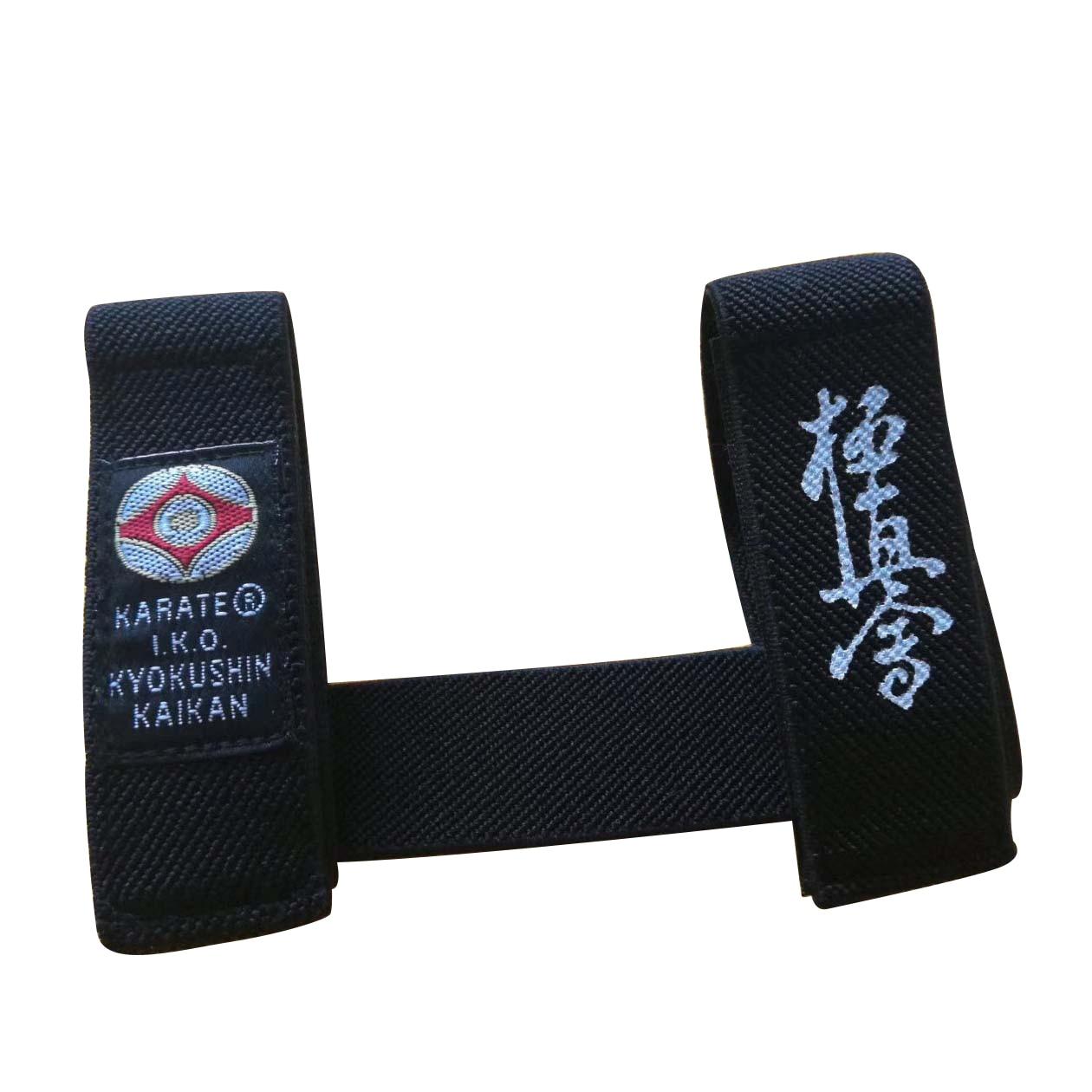 Sinobudo IKO Kyokushin Karate Belt Fixer Karate Kyokushin Kai Belt Fixed Retainer Black Belt Fixer