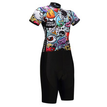 New Summer Men Women Cycling Clothing one piece Skinsuit Mtb Bodysuit Ropa Ciclismo Quick Dry bicycle clothes # SK0001804171(China)