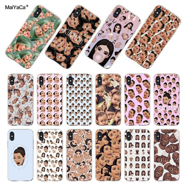 Maiyaca For Iphone 7 6 X Xr Xs Max Kimoji Kim Kardashian Kanye West