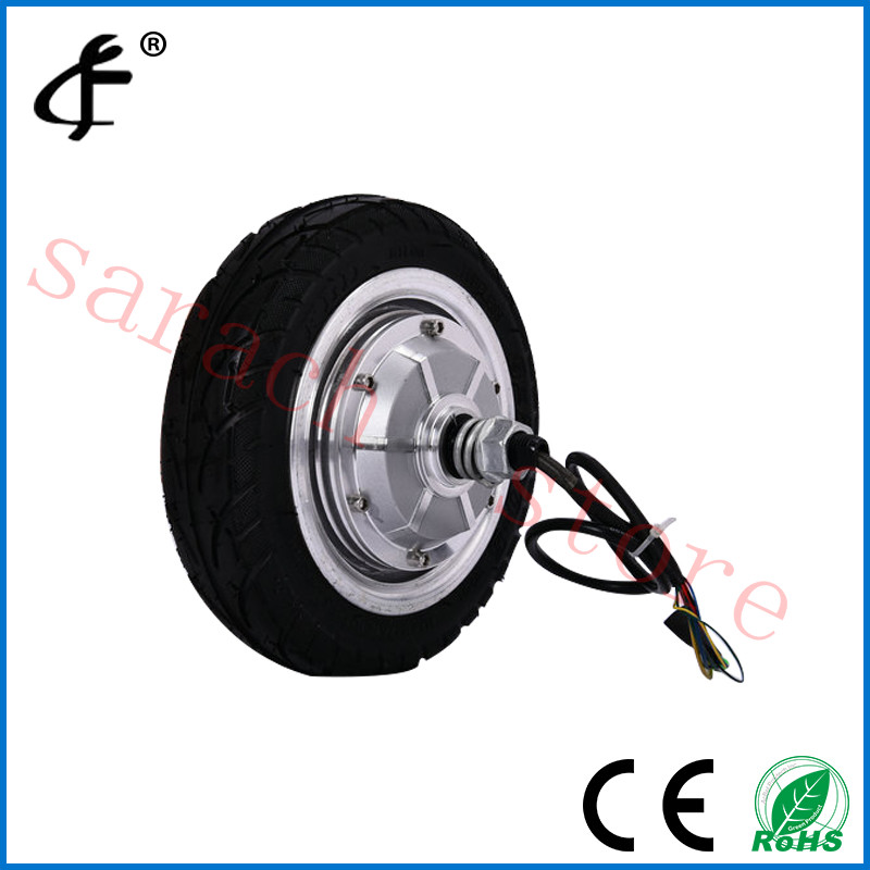 8 350W  24V  disc brake electric wheel hub motor , electric scooter kit , electric bike kit