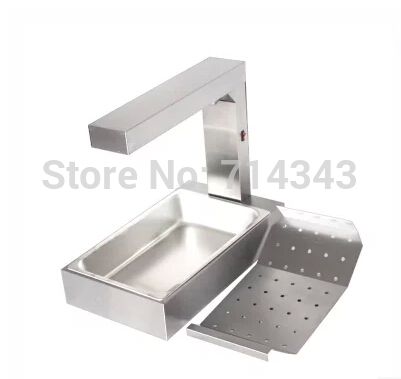 KFC use Vertical type French fries chip warmer,chips worker, holding cabinet, Fast food equipment,showcase
