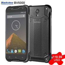 En Stock Original Blackview MTK6735P BV5000 5.0 pulgadas Android 5.1 SmartPhone Quad Core ROM 16 GB RAM 2 GB 4G FDD-LTE
