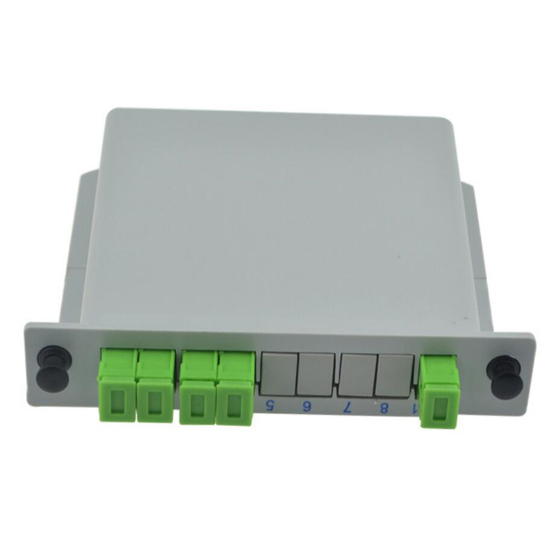 SC APC PLC 1X4 splitter Fiber Optical Box FTTH PLC Splitter box with 1X4 Planar waveguide
