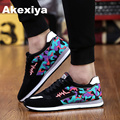 2017 new mens Casual Shoes shoes for men Lace-up Breathable fashion summer autumn Flats pu fashion shoes Air mesh XD88