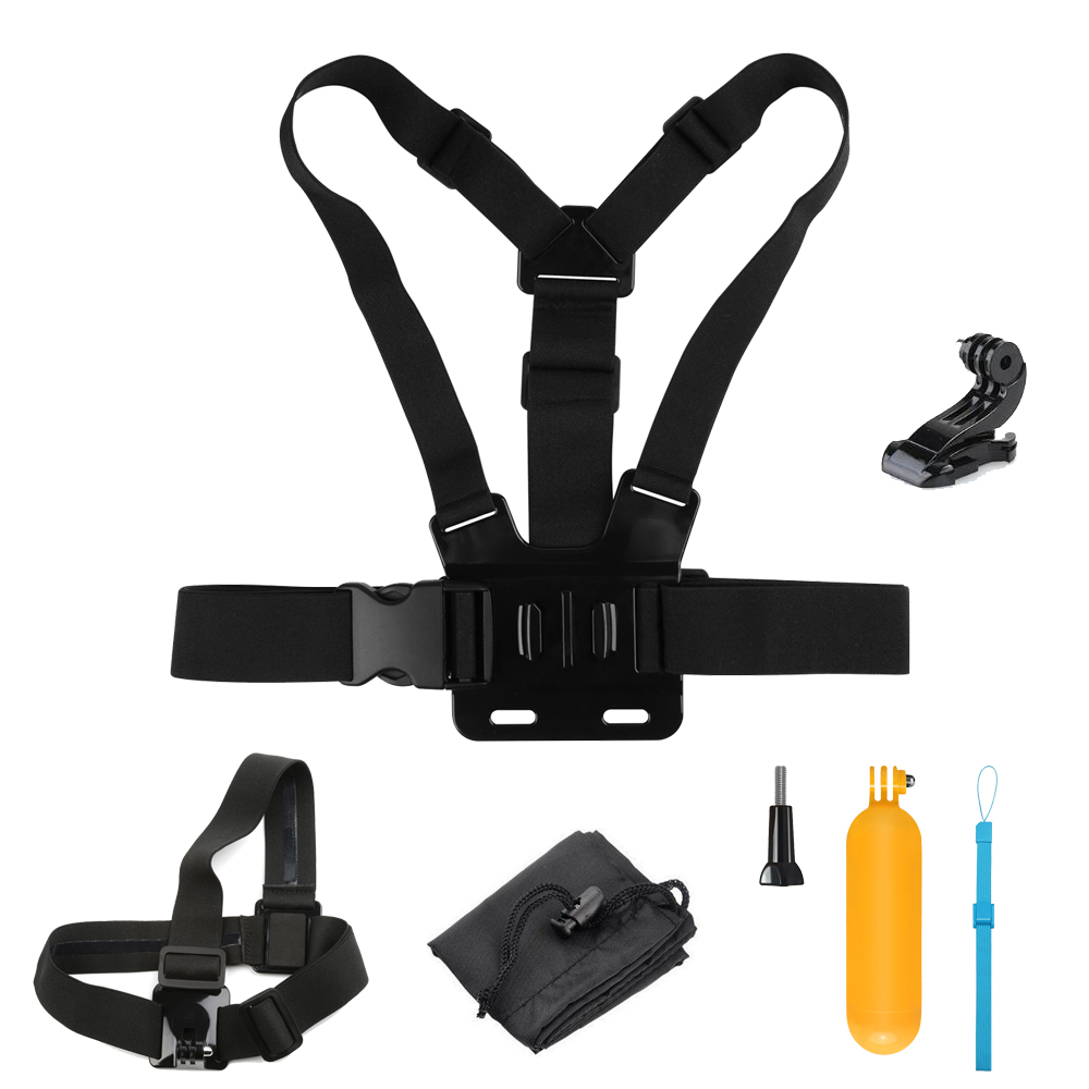 Shoot Universal Action Camera Accessories Set For Gopro Hero 5 4 3 Floating Hand Grip Bobber Xiaomi Yi And 2 Session M20 H9r 4k Sjcam Sj4000 Mount Go Pro Kits