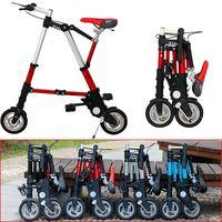 [TB11] Велосипедный спорт скутер мини 8 складной велосипед 10 дюймов небольшой складной автомобиль Бесплатная надувные