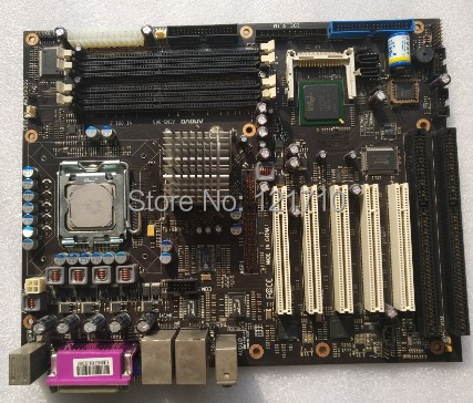 Industrial equipment board aimb-865 V1.0S1.2 775 platform dual network interface dual ISA slot стоимость