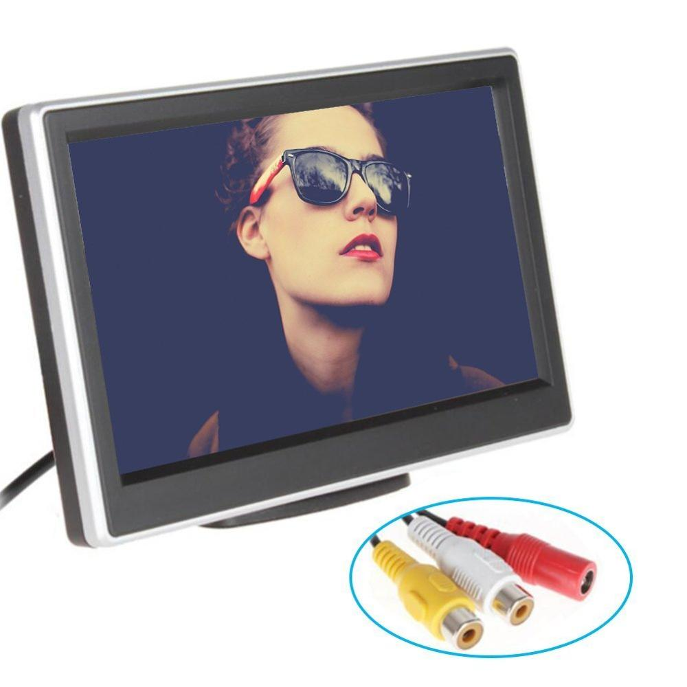 4 3 Inch TFT LCD Car Rearview Monitor Car DVD Monitor Color LCD Mini Car Monitor