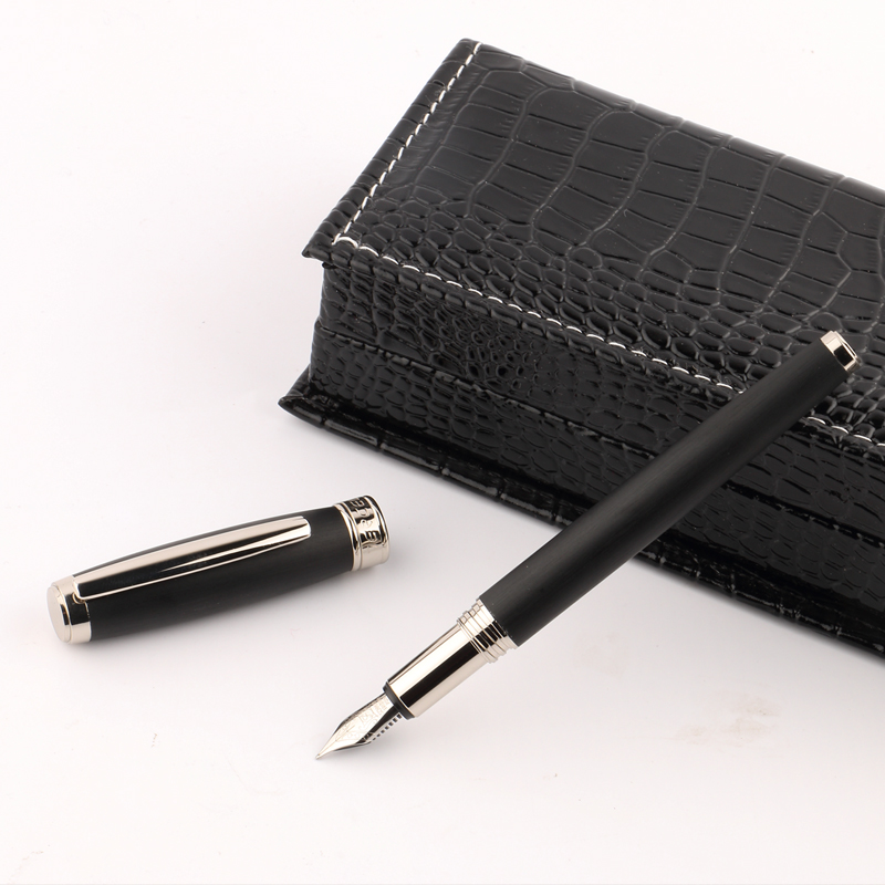 TERCEL Creative Multi fountain pens  office School supplies Stationery Black / Grey Stainless Fountain Pen luxury gift box jinhao fountain pen unique design high quality dragon pens luxury business gift school office supplies send father friend 002