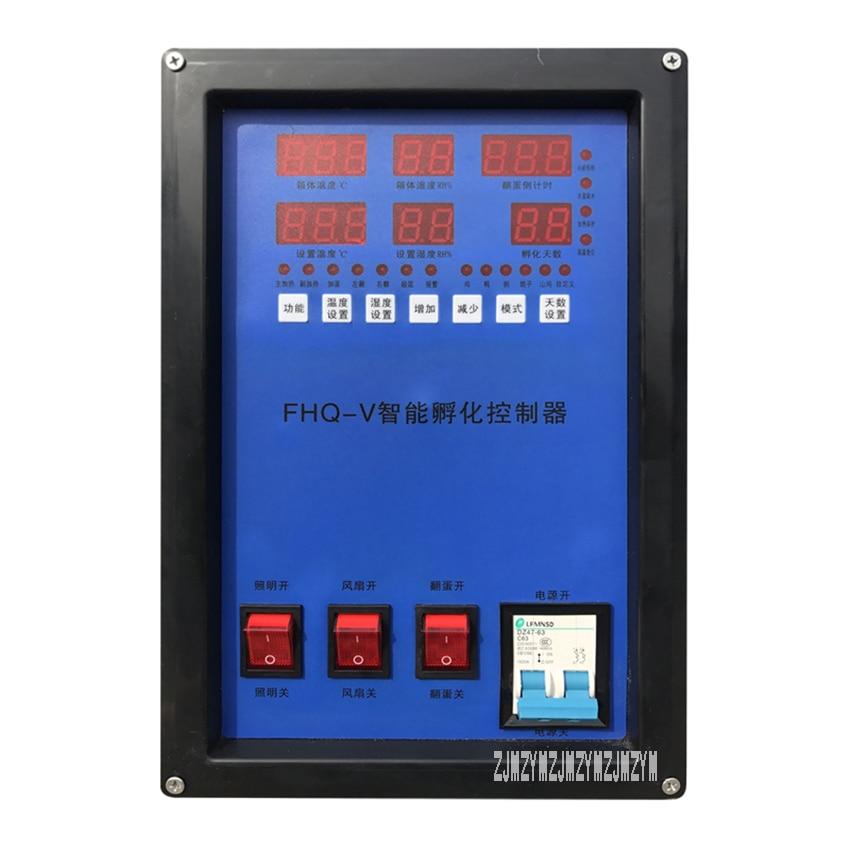 HF108 2112 цифровой яичный инкубатор полный автоматический инкубатор куриный гусиный инкубатор для яиц термостат контроль инкубатория - 3