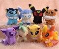 "Pokemon Plush Toys 5"" Umbreon Eevee Espeon Jolteon Vaporeon Flareon Glaceon Leafeon Animals Soft kids child Stuffed toys"