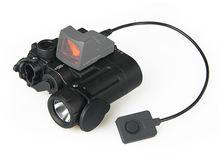 Новый тактический DBAL-D2 в двухлучевой прицельный лазер зеленый W/СИД ИК осветитель класс 1 легкое оружие для пейнтбола аксессуар OS15-0074