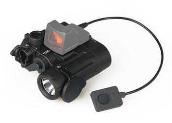 TRIJICON DBAL-D2 Dual Beam Aiming Laser Green w/IR LED Illuminator Class 1  Weapon Light For Paintball Accessory OS15-0074