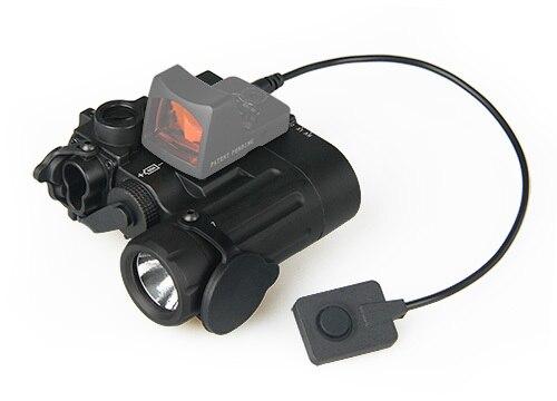 Visando a Laser Luz para Paintball Trijicon Dual Feixe Verde w – ir Led Iluminador Classe 1 Arma Acessório Os15-0074 Dbal-d2