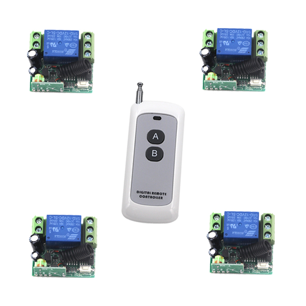 Free shipping DC12V 1CH wireless remote control switch with high power transmitter for entrance guard remote on/off SKU: 5359 free shipping dc12v 1ch wireless remote