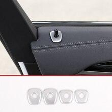 4 pcs ABS Chrome Auto Serratura di Portello Della Copertura Trim Per BMW X3 X4 G01 G02 2018-2019 Accessori Auto