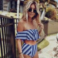 Bikinis cintura alta y baja estampados 3