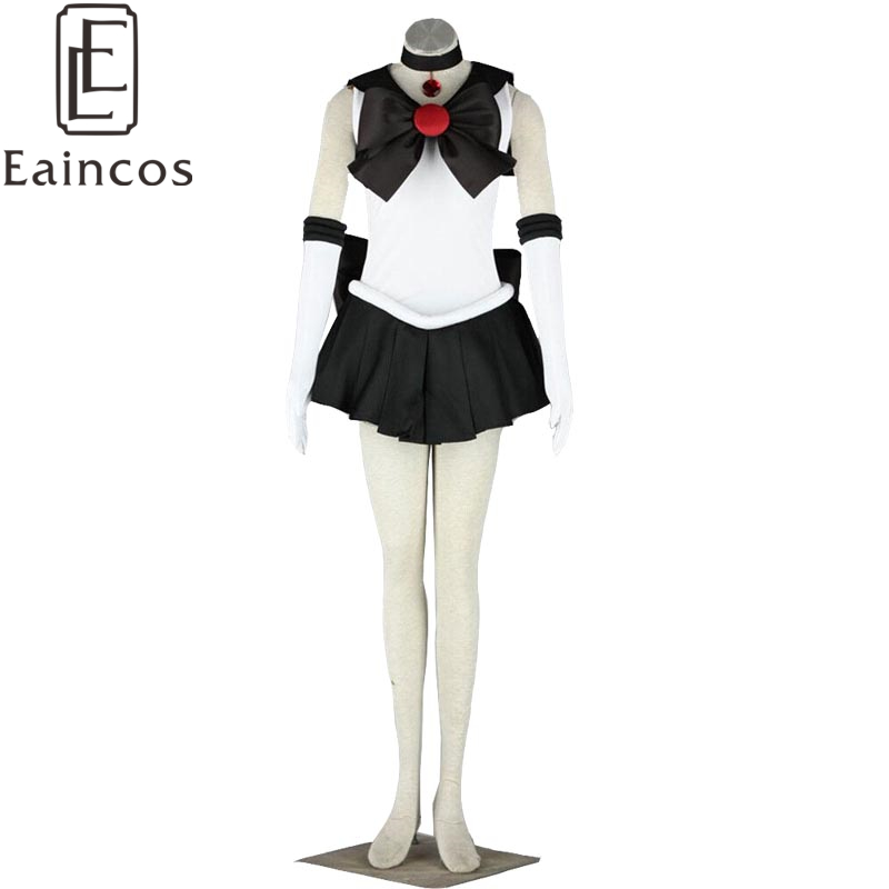 anime sailor moon sailor pluto black fighting uniform