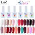 24pcs DHL free shipping New varnishes gel nail UV Gel Nail Polish 137colors 15ml 0.5oz palette gel nail polish