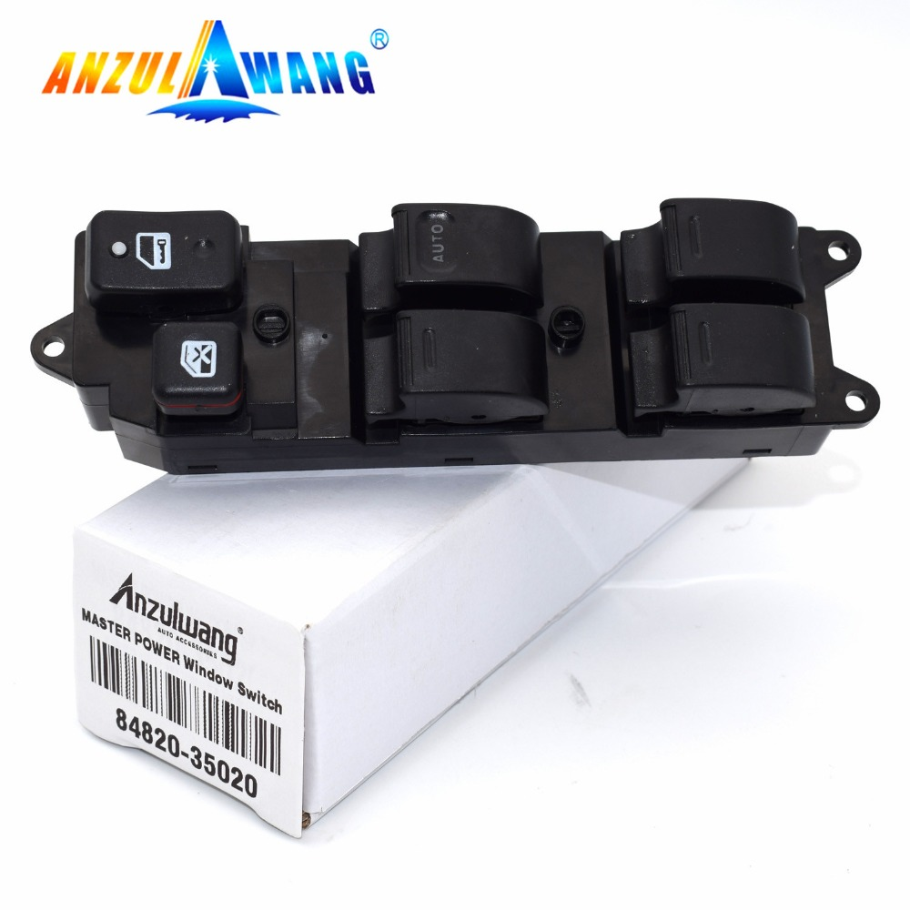new For <font><b>Toyota</b></font> Hilux <font><b>4Runner</b></font> Land Cruiser Carina E 84820-35020 8482035020 Electric Power Window Master Switch image