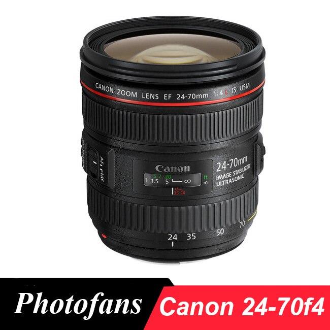 Canon 24-70 f4 objectif canon ef 24-70mm f/4L IS USM Lentilles