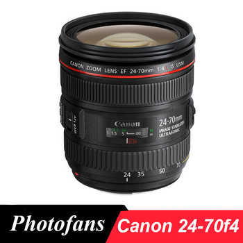 Objectif Canon 24-70 f4 objectifs Canon EF 24-70mm f/4L IS USM
