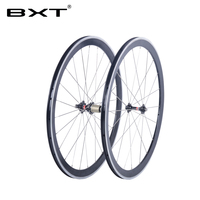 2017 llantas de aleación de carbono 700C v-brake BXT bicicleta de carretera de aluminio del camino del remachador de ruedas novatec hub bicicleta china ruedas