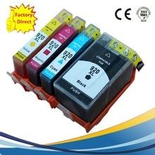 Шт. 920 XL 920XL чернила струйных картриджей Замена для HP920XL Officejet Pro 6000 6500 6500SE 7000 6500A 7500A Пинтера