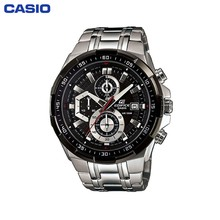 Наручные часы Casio EFR-539D-1A мужские с кварцевым хронографом на браслете