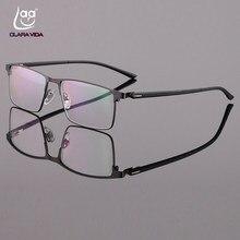 Full-aro Óculos de Liga de Titânio Ultraleve Negócio dos homens TR90 Pernas  Requintado Dobradiças de Silicone almofadas nariz Óp.. ff9bd38954