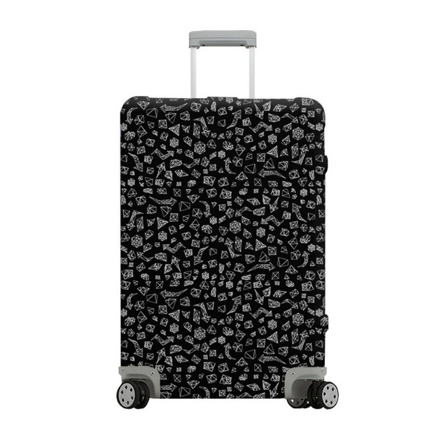 ODBIC High Quality Travel Suitcase Elastic Dust Cover Trolley Case Luggage Protection Case For 18 ~ 32 Inch Protective Luggage Covers