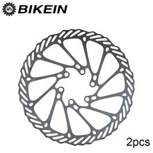 BIKEIN- 2pcs Mountain Bike G3 Disc Brake Rotors 160mm Stainless Steel 6 Inches Disc 12 Blots Bicycle Parts MTB Rotor For BB5 BB7(China)
