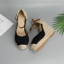 Women Wedges Ankle Strap High Heels Sandals