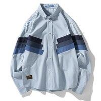 Korean Men Slim Fit Shirt Long Sleeve Fashion Print Casual Mens Dress Shirts Social Camisa Masculine Blouse Mens Clothing 6c030