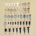 45 UNIDS Tronco cubierta del sello de plástico cubierta de la capilla cierre remache clips set para VW Sharan Tiguan Lavida C-TREK Phaeton Escarabajo Scirocco