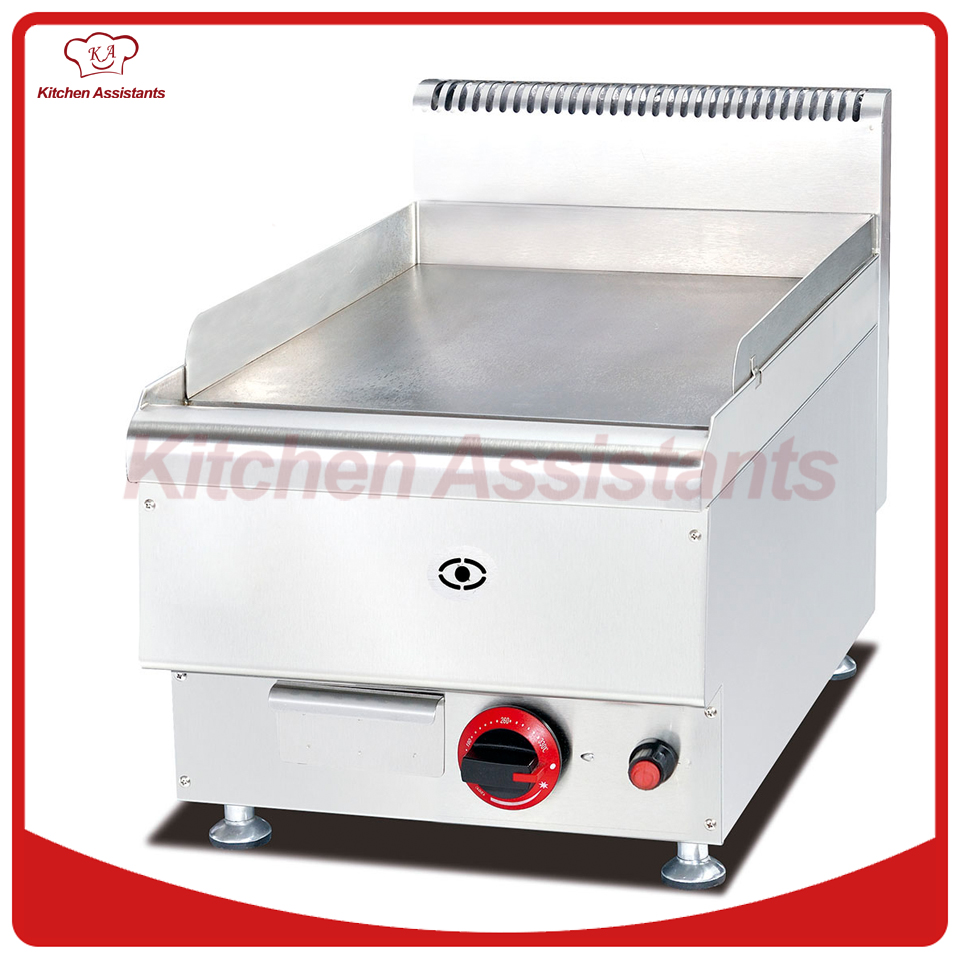 GH546 Gas Griddle with all flat cooker of catering equipment gh787a gas range with 4 burner with gas oven of catering equipment