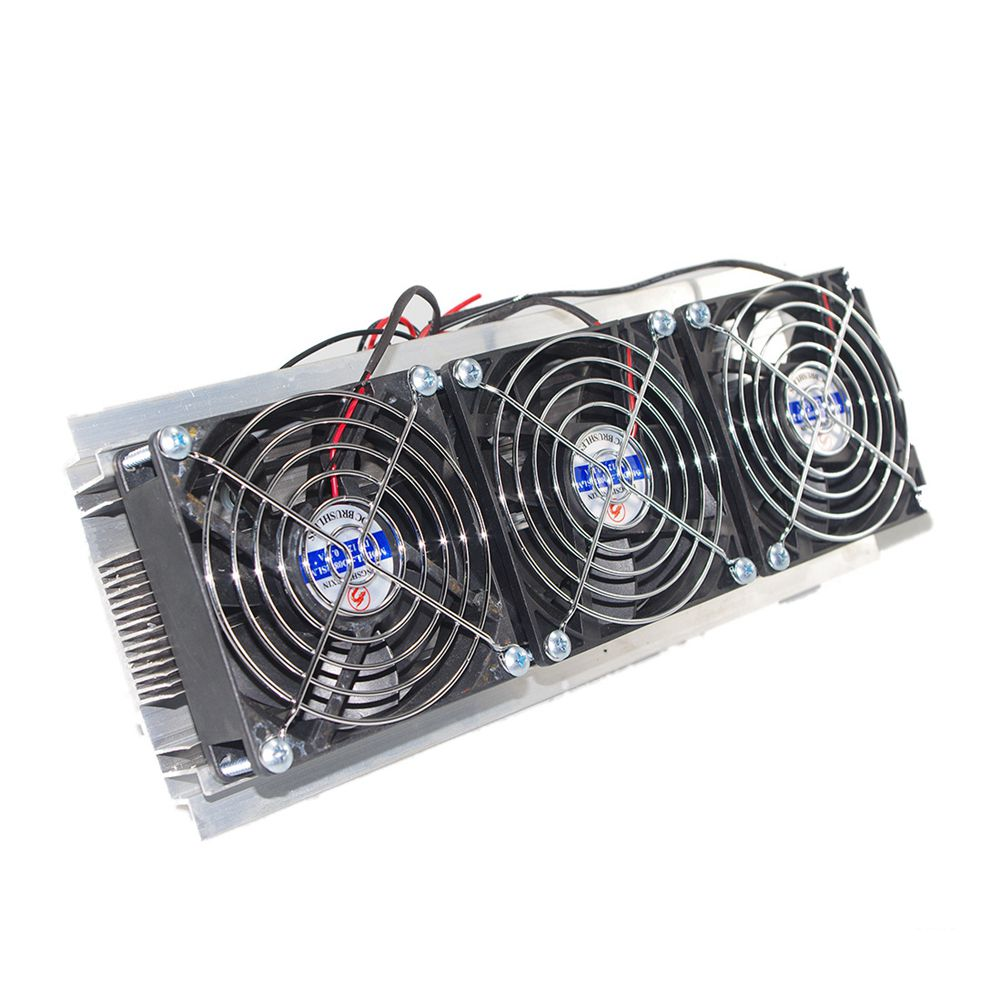 Semiconductor Refrigeration Radiator Thermoelectric Peltier Water Cooling Device-in Fans & Cooling from Computer & Office    1