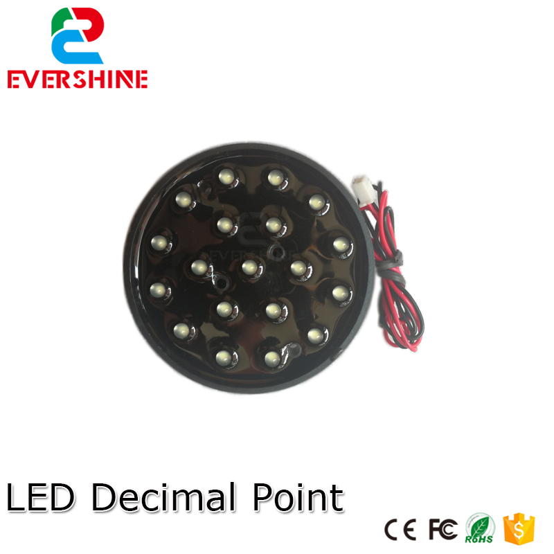 Gas price Digital Numbers Module LED decimal point ,outdoor waterproof led signs usage for 18 20 22 24 36 48 etc