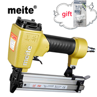 Meite F32 brad nailer 18GA Powerful tool tools Air Gun Brad Nailer Pneumatic Nailer Gun for Cabinet Jun.14 Update Tool