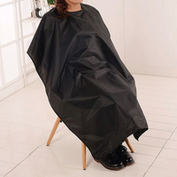 120*140cm Black Cutting Hair Waterproof Cloth Barber Hairdresser Hair Cutting Cover Capes Cloak Clothes for Unisex