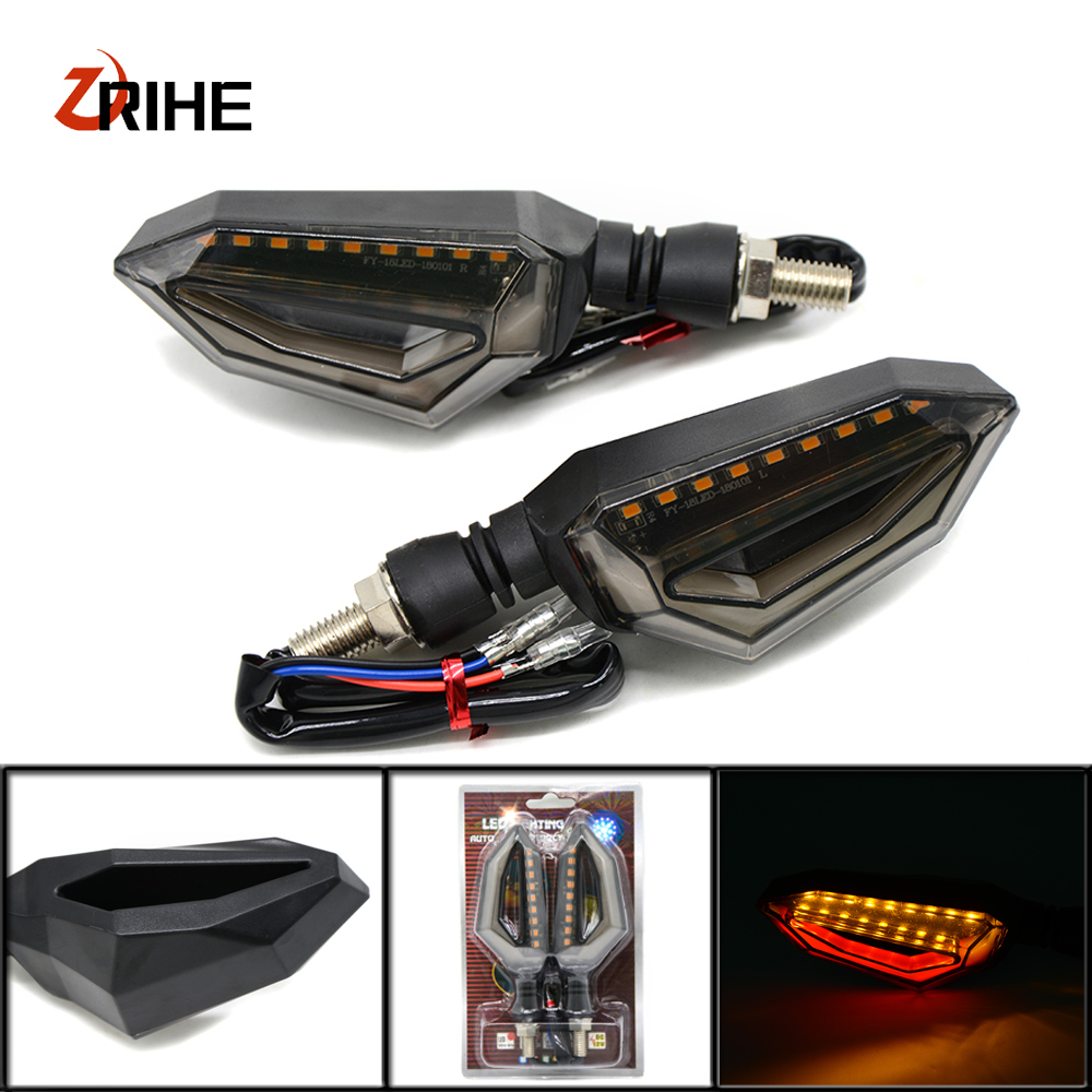 Universal Motorcycle Motobike LED Tail Light Turn Signal For hondaVFR 750 800 VTR1000F CBF1000 VF750S SABRE