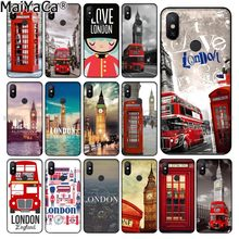 MaiYaCa London big ben Bus Custom Photo Soft Phone Case for Xiaomi Redmi 5 5Plus Note4 4X Note5 6A Mi 6 Mix2 Mix2S(China)